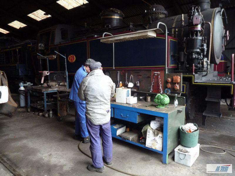 Depot et ateliers des chemins de fer de Vendée.