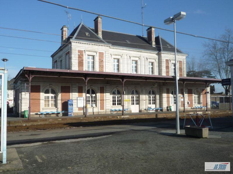 Le BV de la gare de Clisson.
