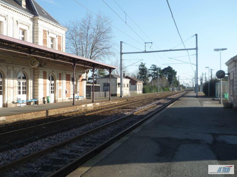La gare de Clisson.