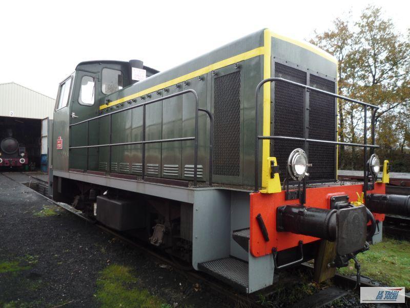 locotracteur Y 7303 - Chemins de fer de Vendée.