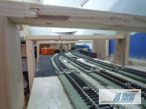 La gare souterraine du nouveau réseau.