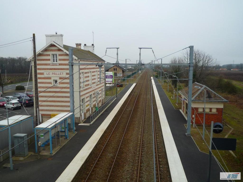 La gare du Pallet !