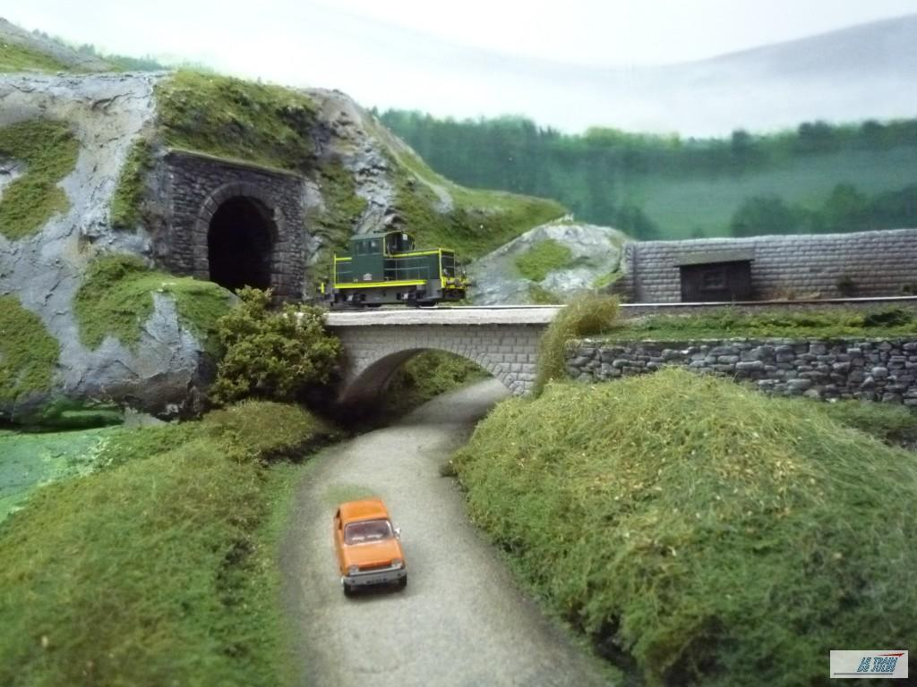 le petit pont à la campagne !