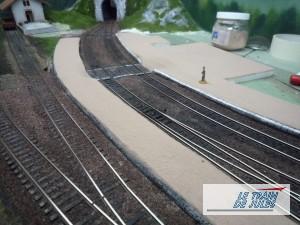 Les quais HO de la gare villeneuve