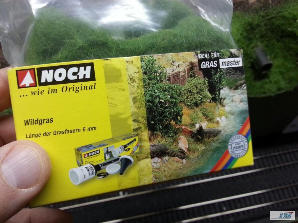 Fibre 6 mm Noch pour notre herbe HO