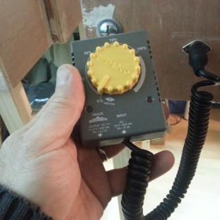 Le modulateur est connecté au module HOe.