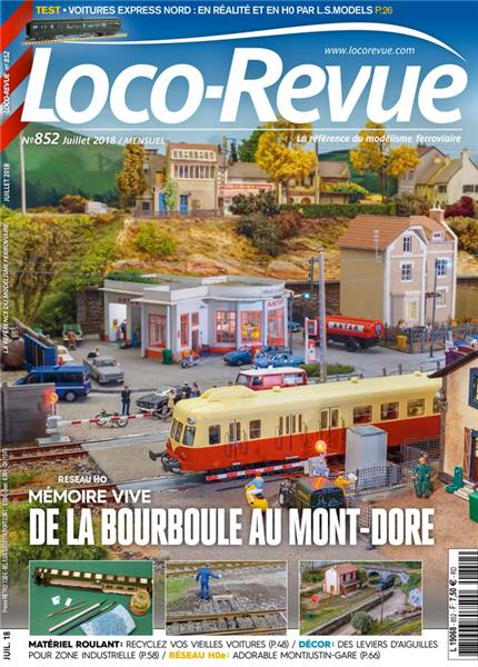 Montjustin Gare dans Loco-Revue