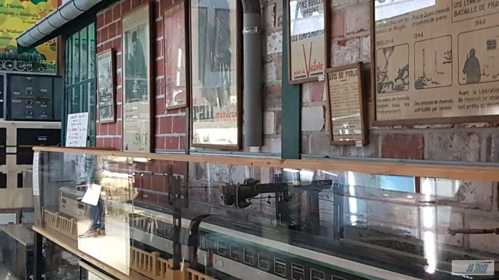 Musée du rail de Dinan - Salle du musée
