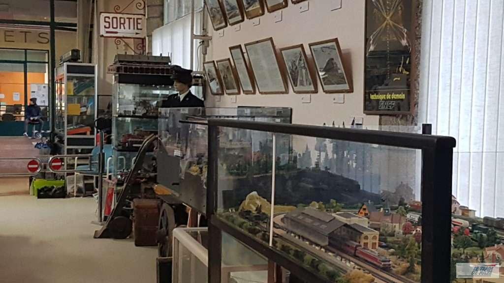 Musée du rail de Dinan - maquette
