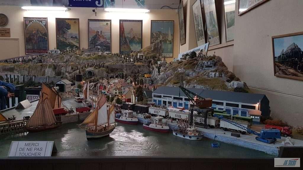 Musée du rail de Dinan - Le réseau