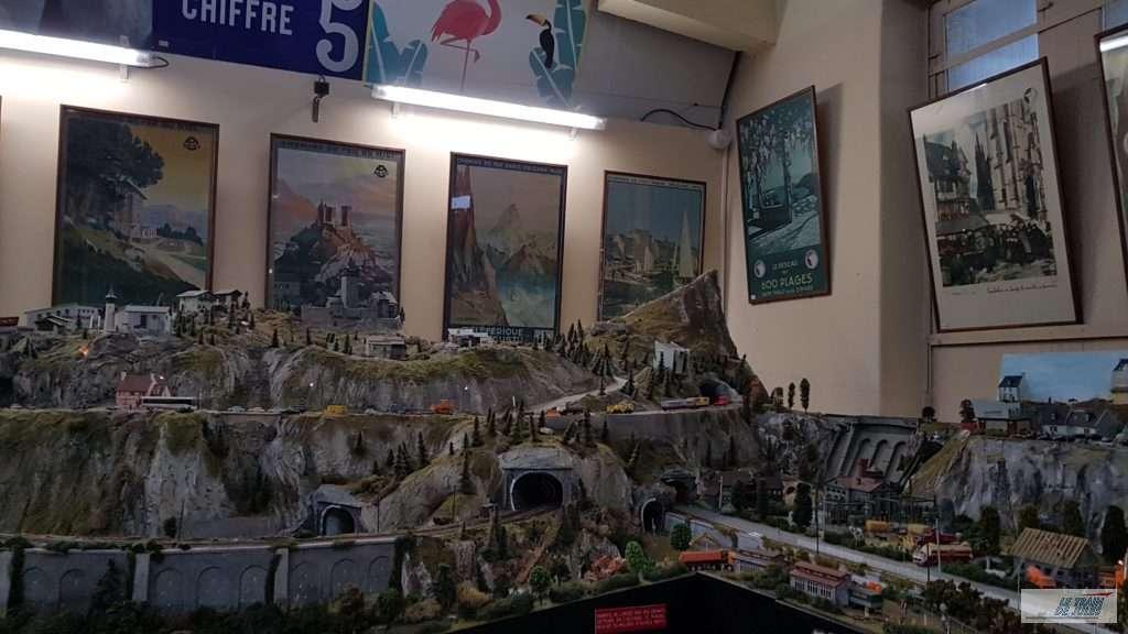 Musée du rail de Dinan - le réseau du musée