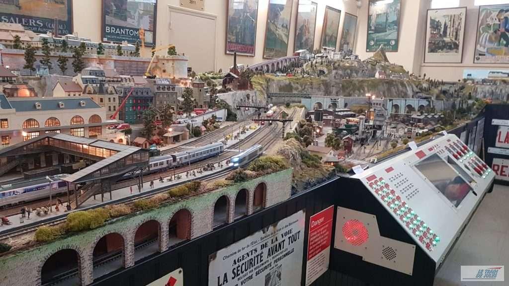 Musée du rail de Dinan - Les commandes