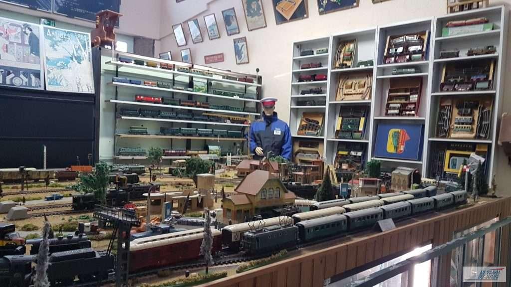 Musée du rail de Dinan - Réseau en 0
