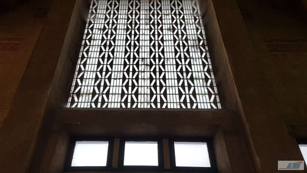 Vitrail Hall gare de Dinan