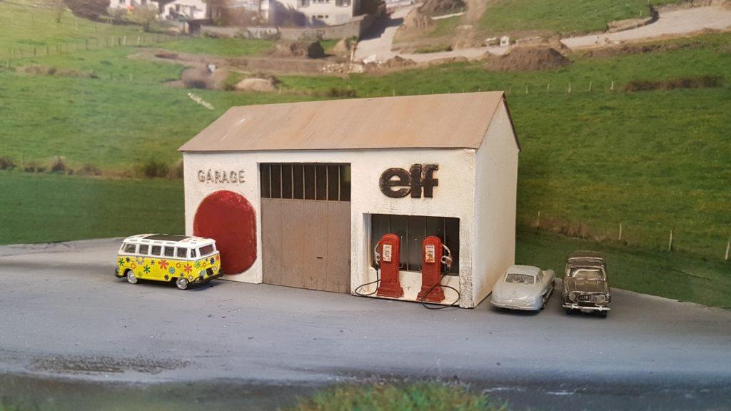 Le garage Elf Minifer