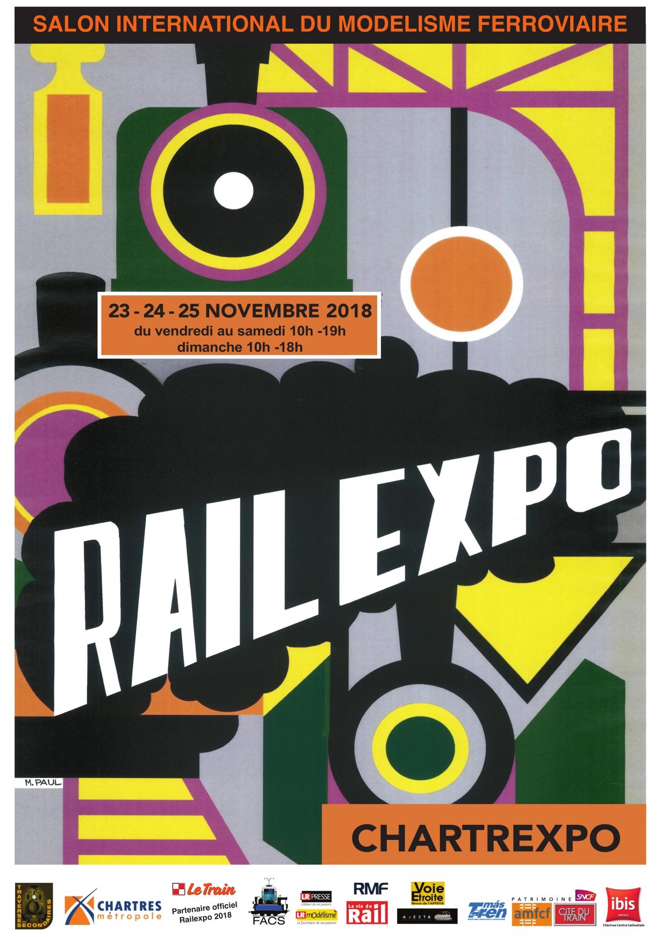 Affiche Trainsmania 2019