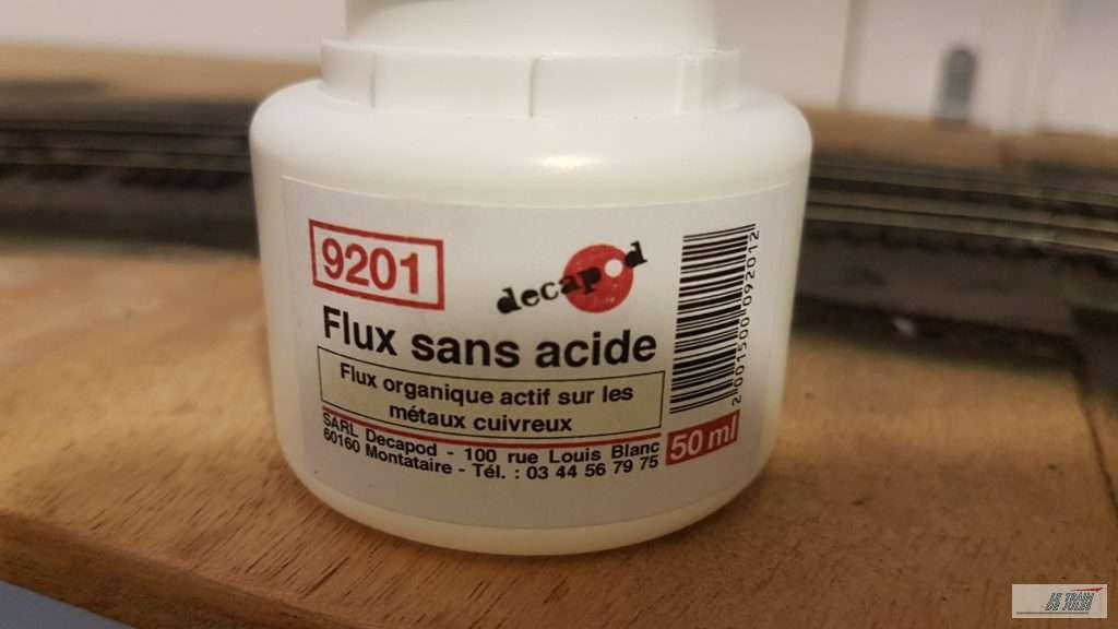 Du flux sans acide Décapod