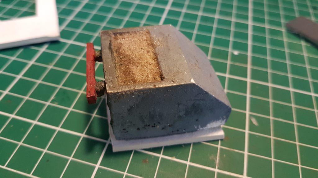 Base carton du moule pour le heurtoir