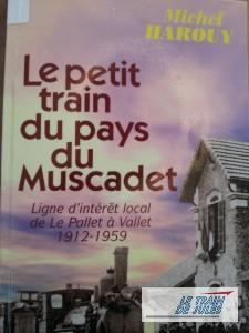 Le petit train du pays du muscadet de Michel Harouy