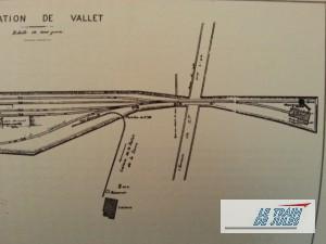 Gare de Vallet - Partie droite