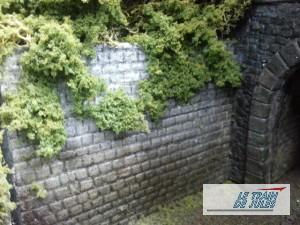 Mur avant tunnel.