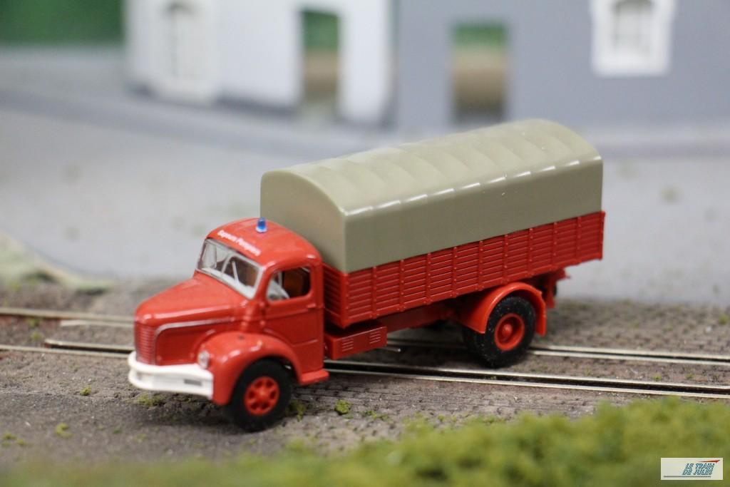 Camion Berliet chez Brekina.