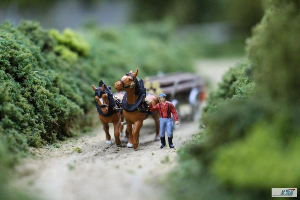Transport à cheval - Preiser.