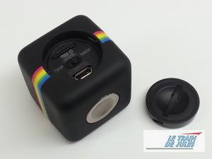Polaroïd Cube caméra HD face arrière;