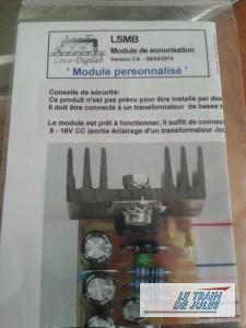 La notice du module sonore Loco-DigiLab.