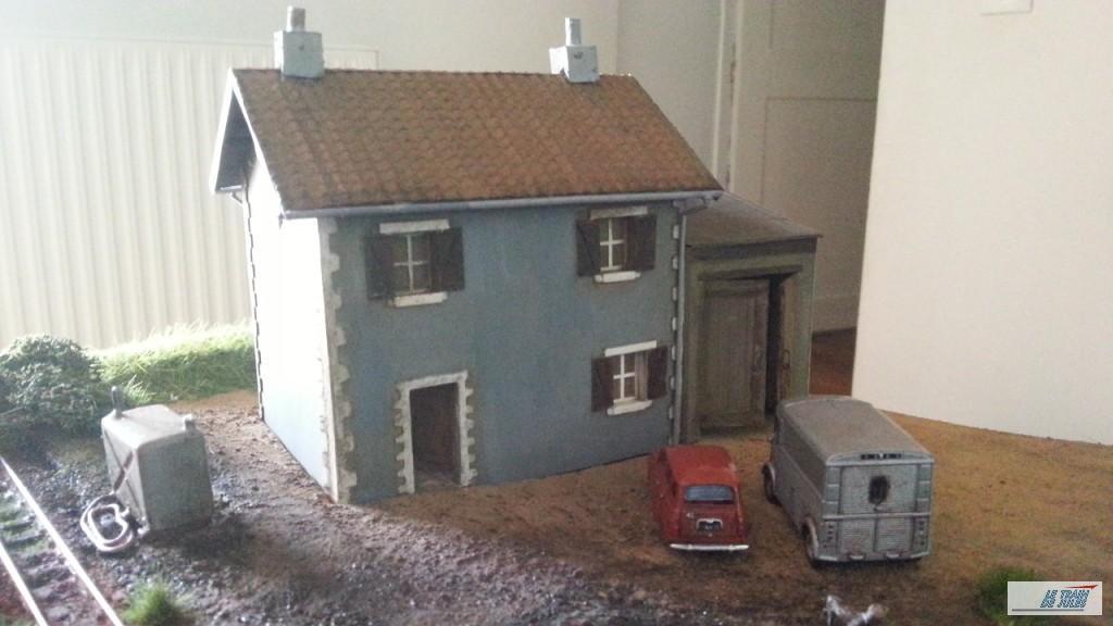 Maison Lagrume mise en place