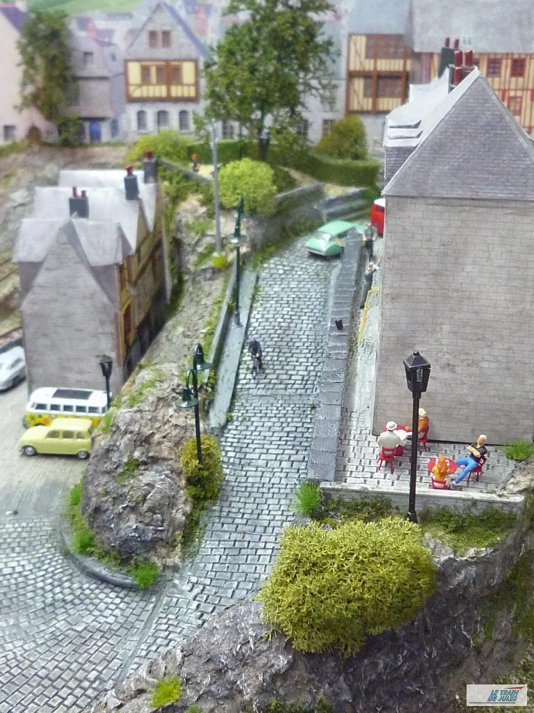 La rue pavée de Kerville