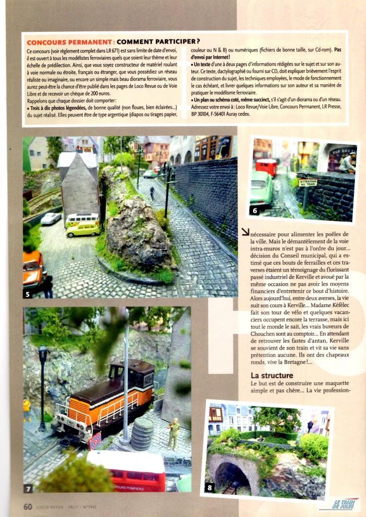 Kerville dans le Loco-Revue N°769 - Août 2011