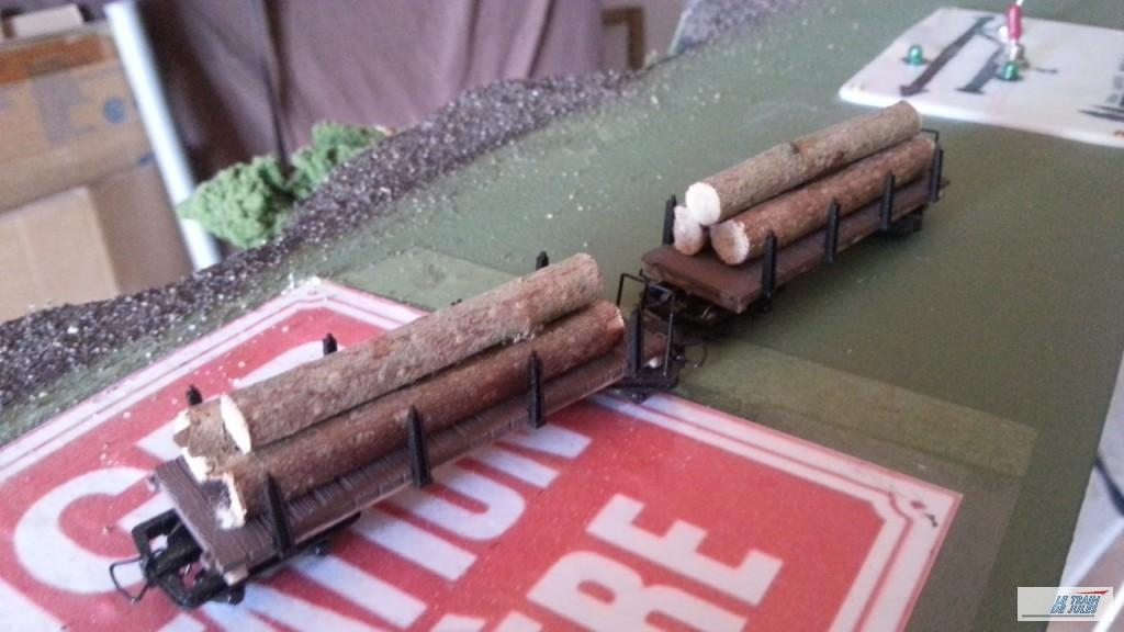 Wagons grumiers Hoe MinitrainS