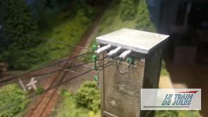 Câbles vers le transformateur
