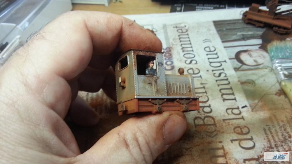 Patine materiel : Resultat locotracteur