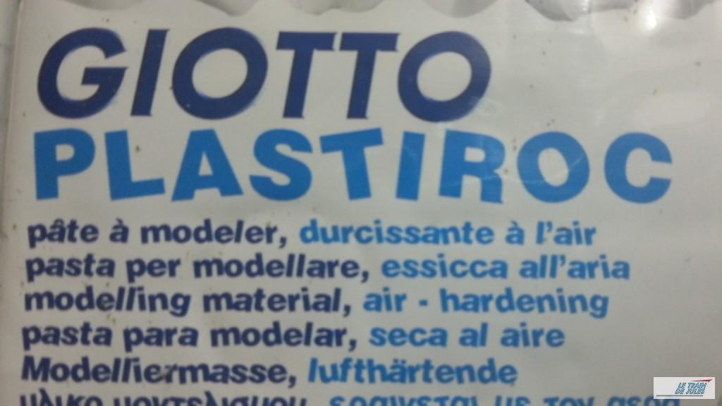 Giotto plastiroc. Pâte a modeler.