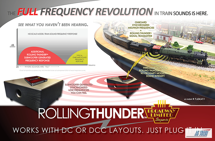 Rolling thunder system.