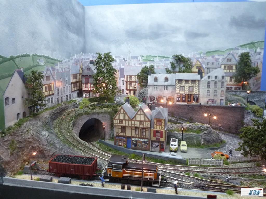 Decor De Fond Le Train De Jules