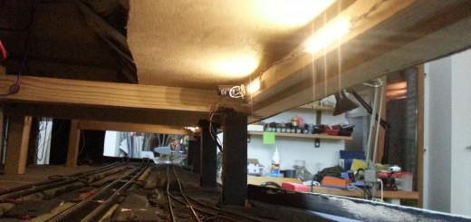 Eclairage de la gare souterraine