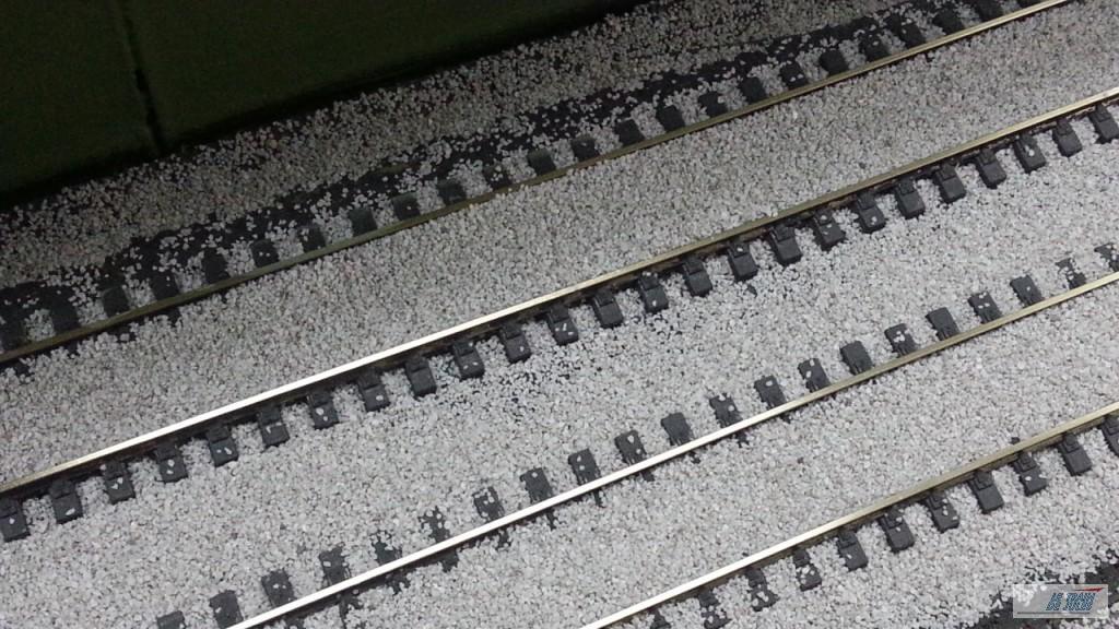Le rails sont couverts