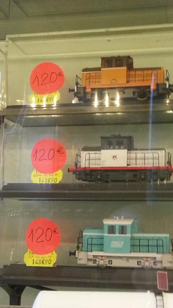 Les cheminots, super promo sur les locotracteurs EPM