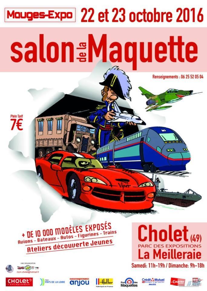 Exposqition modélisme à Cholet