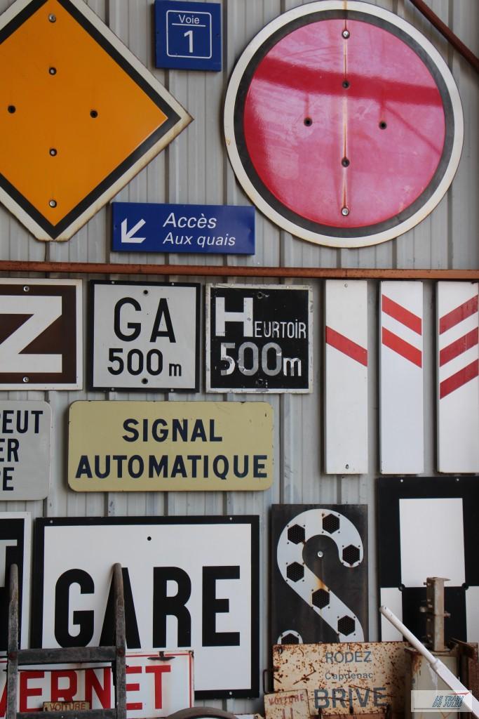 Collection de pancartes