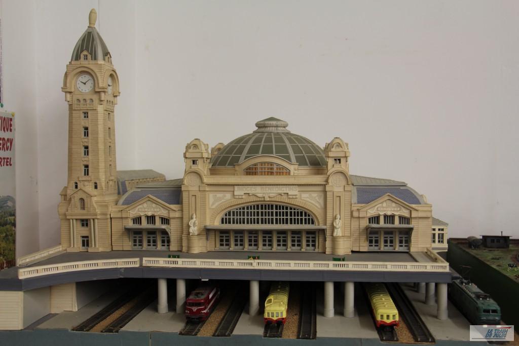 Maquette de la gare de Limoges