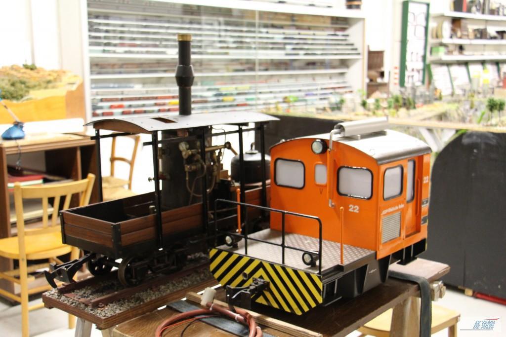 Train grosse echelle