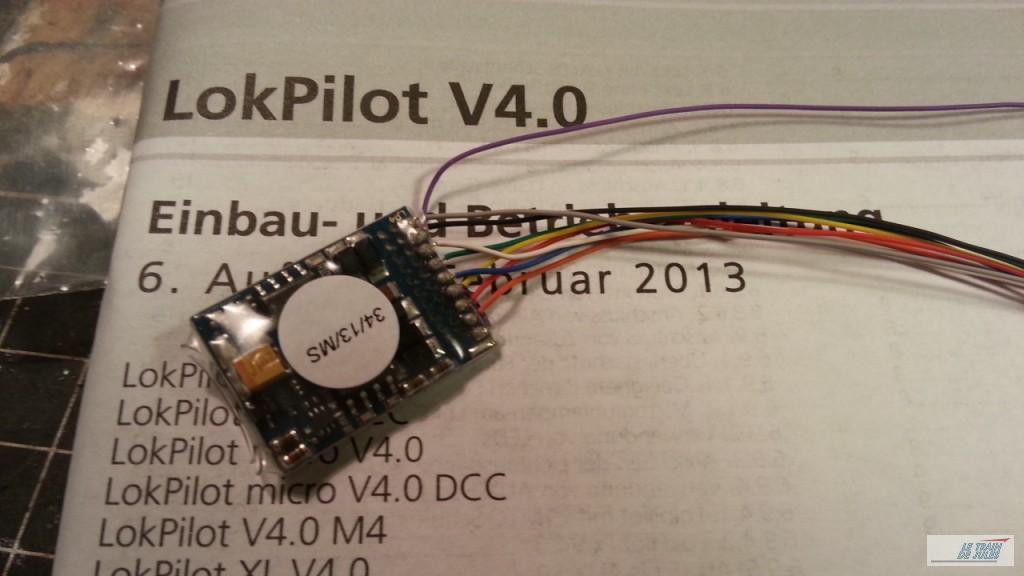 Décodeur Lokpilot ESU V4.0