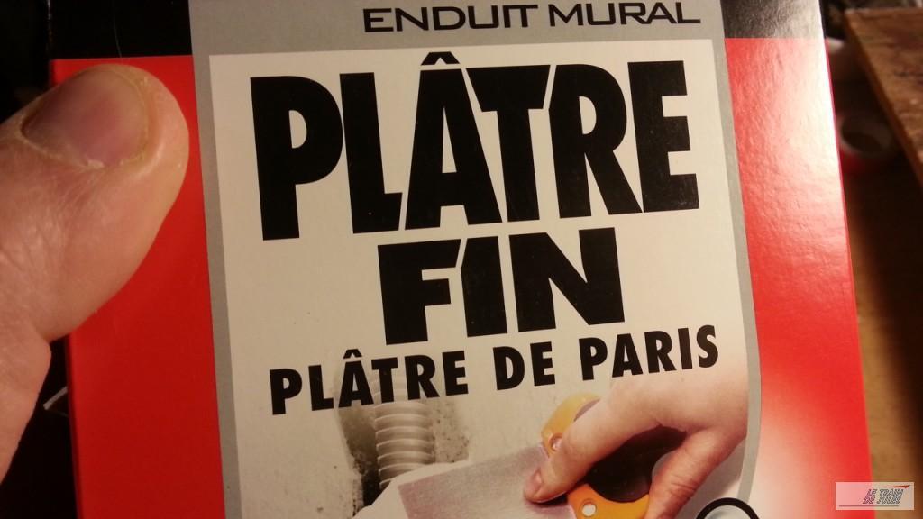 Le plâtre fin