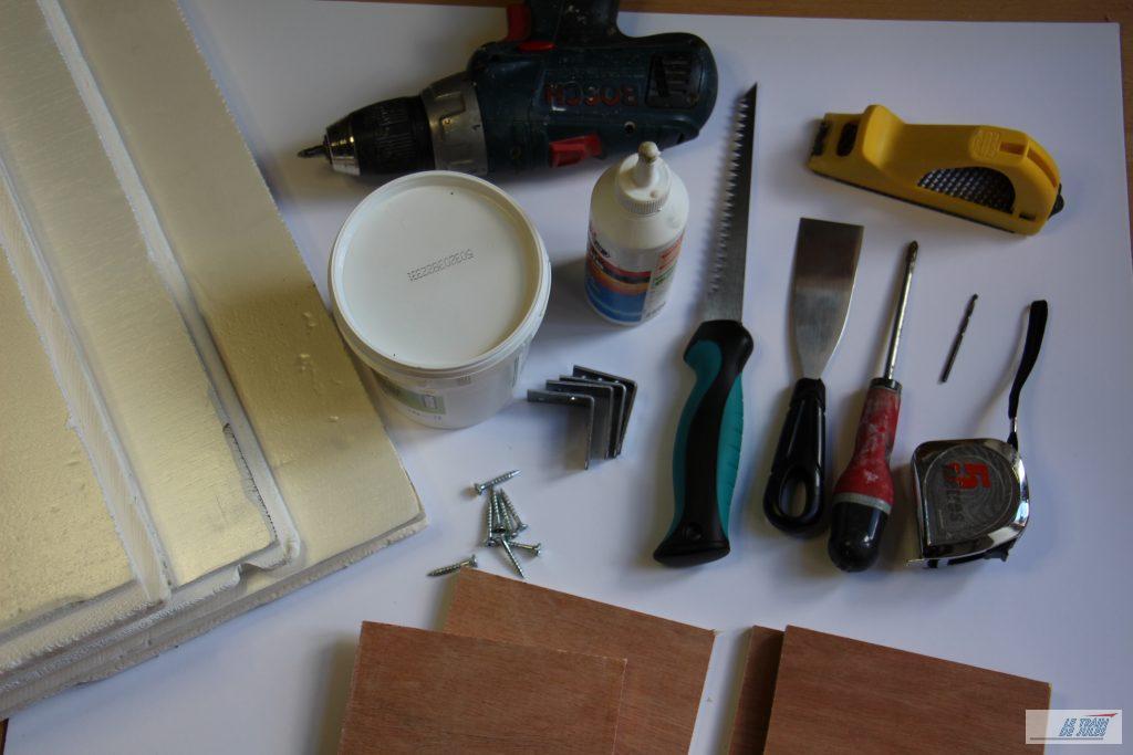 les outils pour réaliser Montjustin gare