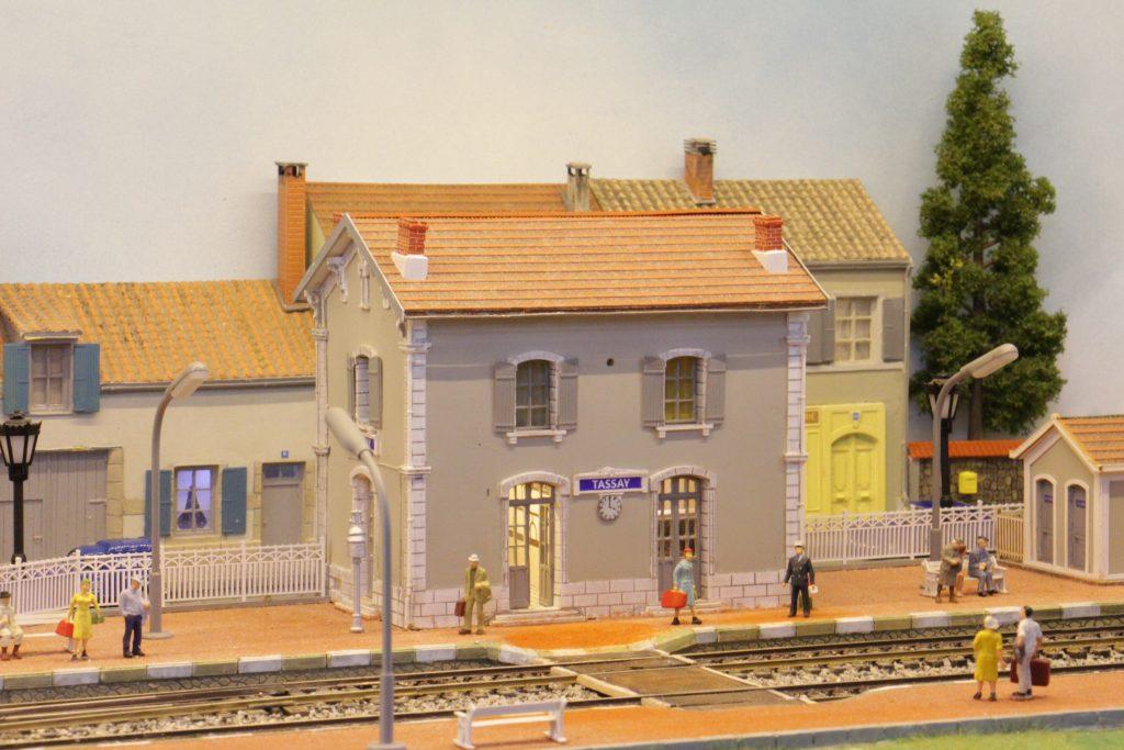 La gare de Tassay
