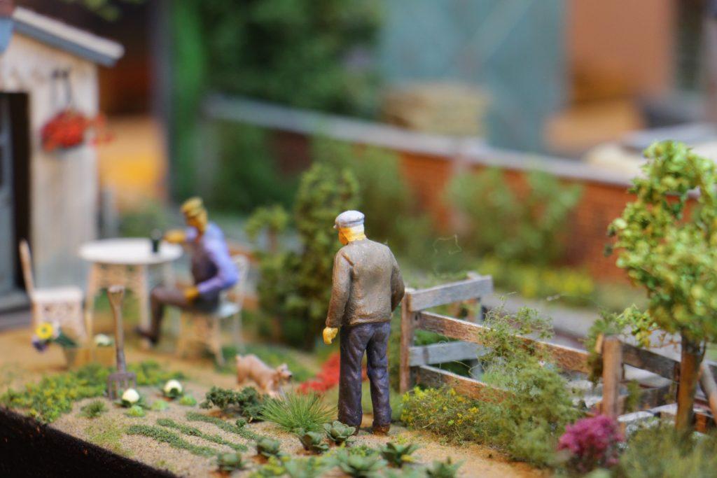 Laval 2016 et les jardin de Michel Lecoursonnais au 1/43eme